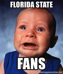 Florida State Memes - florida state fans crying baby meme generator