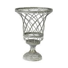 wire urn planter wayfair