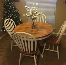 everyone remembers the butcher block tables and chairs from the