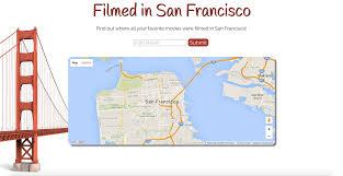 San Francisco On A Map by Priyanka Saigal