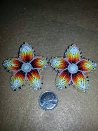 374 best native beaded earrings images on pinterest native