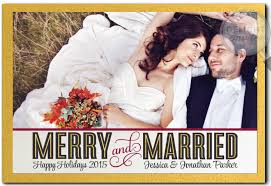 newly wed christmas card photo cards mounted custom invitations and
