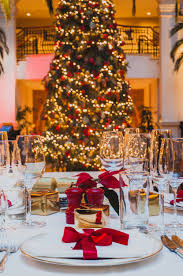 the landmark london christmas dnner at the winter garden