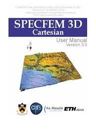 specfem3d manual compiler parallel computing
