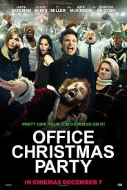 office christmas party poster 23 goldposter
