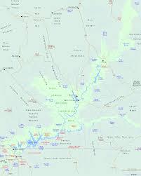 Utah On Map Glen Canyon National Recreation Area Map Utah Map Travel