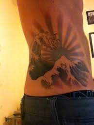great wave and rising sun picture at checkoutmyink com