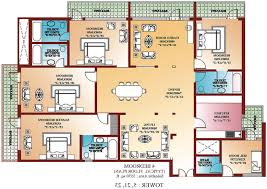 four bedroom house floor plan preview bedroom connery house bedroom house plans home