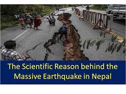 the scientific reason the earthquake in nepal