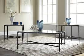 wayfair coffee table sets coffee table zipcode design melanie 3 piece coffee table set reviews
