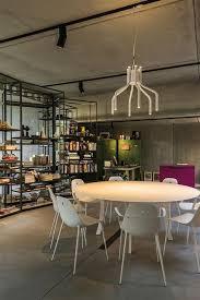 Office Chandelier Concrete Building Industrial Look Design Meeting Room Lighting By