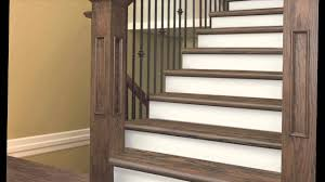 Laminate Flooring Stair Nose Installation Zamma Cap A Tread Installation Video Youtube