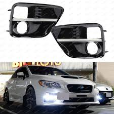 jdm subaru wrx wrx fog light cover ebay