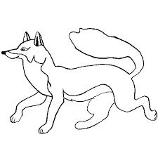 renard animaux u2013 coloriages à imprimer