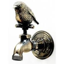 rabbit zodiac brass tap pipe faucet garden outdoor decor bathroom