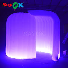 fry s led light strips 3 2 2 3mh inflatable igloo photo booth with led light strip