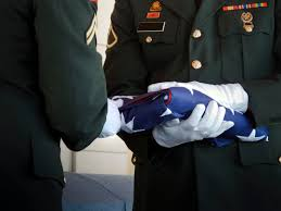 Flag Folding Meaning Learn What Three Bullets Represent In Military Funerals