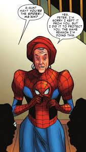 Spiderman Rice Meme - spider verse finally gets around to the amazing spider ma am and