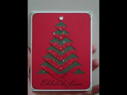 diy greeting cards how to make a christmas card tutorial