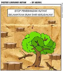 cara membuat poster untuk anak sd poster stop penebangan hutan catatan arin