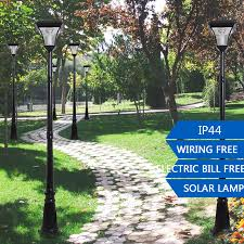 Outdoor Electric Post Lights by Aliexpress Com Buy 2 2m Super Bright Outdoor Led Solar Garden