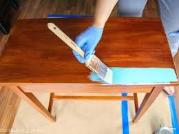 stained table top painted legs painted table top kitchen table transformations painting chrome