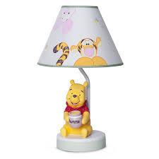 winnie the pooh lamp and shade peeking pooh disney baby