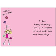 bang on the door happy birthday card