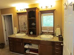 Kraftmaid Bathroom Cabinets Traditional Kraftmaid Sonata Cherry Harris Bathroom In Cabinets