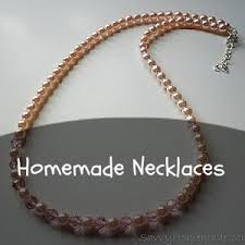 jewellery making necklace images Creative yet easy homemade jewelry jpg