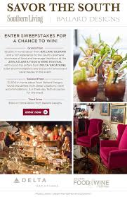 www southernliving savor the south sweepstakes southern living