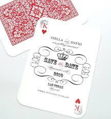 Black Card Invitation Las Vegas Wedding Save The Date Casino Invitation Playing Card
