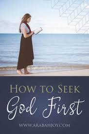 How To Seeking How To Seek God