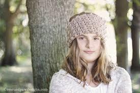 crochet headband cozy crochet headband pattern rescued paw designs crochet by