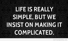 is really simple quote