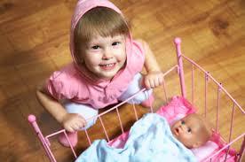 developmental skills while with dolls shore