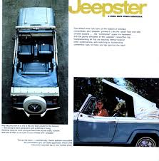 jeep jeepster interior 1966 jeep jeepster brochure