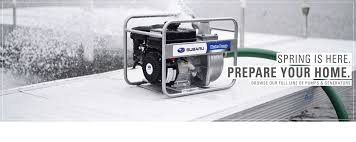 small engines pumps generators subaru industrial power