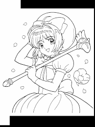 cardcaptors 42 cartoons coloring pages u0026 coloring book