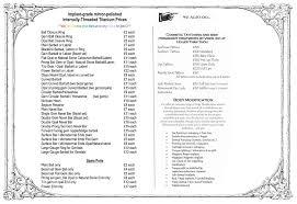 price list u2013 holier than thou
