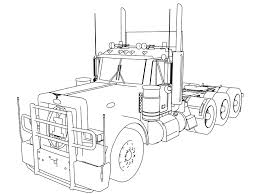 coloring pages horse trailer coloring pages horse trailer best of peterbilt coloring pages