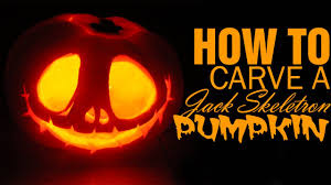 diy how to carve a jack skellington pumpkin for halloween