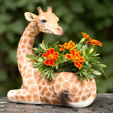 animal planter download giraffe planter buybrinkhomes com