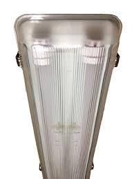 vapor proof fluorescent light fixtures pl vt4 36spled led vapor tight fixture 36 watt