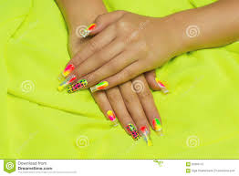 long nails stock photo image 55959772
