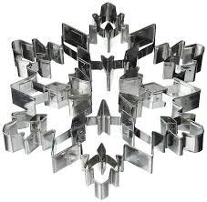 amazon com r u0026 m international giant 7 5 inch snowflake cookie