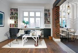 22 exposed brick wall designs giving great look modern interiors