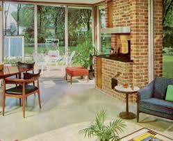 mcm home beautiful mcm patio flooring options for sunroom mid century
