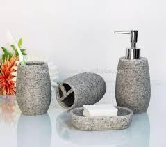 Salle De Bain Bathroom Accessories by Artificial Stone Bathroom Bath Accessories Set Natural Stone