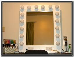 Makeup Vanity Light Diy Makeup Vanity Mirror With Lights Home Design Ideas